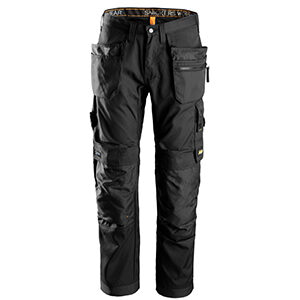 6200 Pantalón largo AllroundWork+ bolsillos flotantes de Snickers Workwear